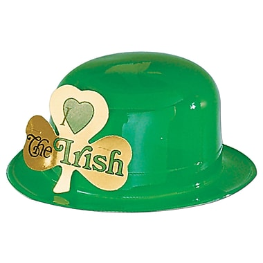 Beistle – Chapeau en plastique « Irish », paquet de 7