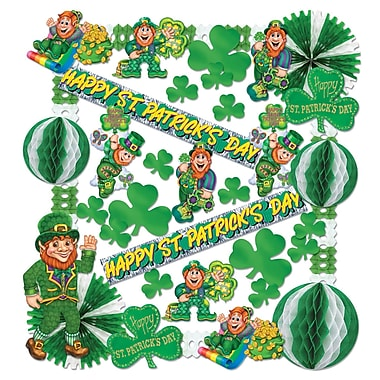 Beistle St Patrick Decorating Kit , Assorted Sizes