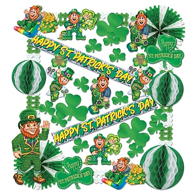 Beistle 37-Piece St. Patrick Decorating Kit