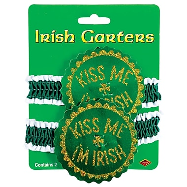 Beistle Irish Garters, 8/Pack
