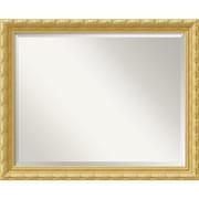 "Amanti Art 31.88"" x 25.88"" Versailles Large Wall Mirror, Antique Gold"
