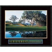 """Amanti Art """"Achievement: Golf"""" Framed Print Art, 23"""" x 29"""""""