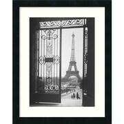 "Amanti Art Gall ""The Eiffel Tower From The Trocadero, 1925"" Framed Print Art, 22"" x 18"""