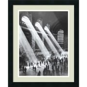 "Amanti Art ""Grand Central Station"" Framed Print Art, 22"" x 18"""