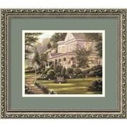 "Amanti Art Betsy Brown ""Des Fosses Antiques"" Framed Print Art, 13.88"" x 15.88"""