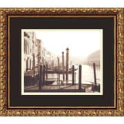 "Amanti Art David Westby ""Venice"" Framed Print Art, 13.88"" x 15.88"""
