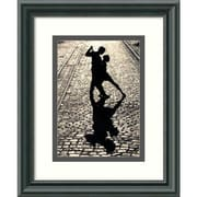 "Amanti Art ""The Last Dance"" Framed Print Art, 11 1/2"" x 9 1/2"""