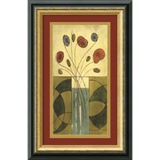 "Amanti Art Mark Cabral ""Sur la Table II"" Framed Art, 17.38"" x 11.38"""