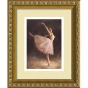 "Amanti Art Richard Judson Zolan ""The Passion of Dance"" Framed Art, 12"" x 10"""