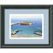 "Amanti Art Frane Mlinar ""Peaceful Morning"" Framed Print Art, 9 1/2"" x 11 1/2"""