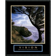 "Amanti Art ""Vision: Lighthouse"" Framed Print Art, 29"" x 23"""