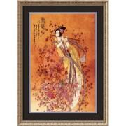 "Amanti Art Chinese ""Goddess of Prosperity"" Framed Art, 30 1/4"" x 22 1/4"""
