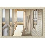 "Amanti Art Daniel Pollera ""Serenity"" Framed Print Art, 27 1/2"" x 39 1/2"""