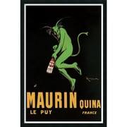 """Amanti Art Leonetto Cappiello """"Maurin Quina, 1920 ca"""" Framed Print Art, 37.38"""" x 25.38"""""""