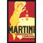 "Amanti Art ""Martini - Vermouth Torino"" Framed Print Art, 37.38"" x 25.38"""