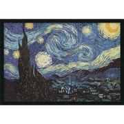 "Amanti Art Vincent Van Gogh ""The Starry Night"" Framed Print Art, 25.38"" x 37.38"""