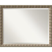 "Amanti Art 30.88"" x 24.88"" Argento Large Wall Mirror, Champagne"