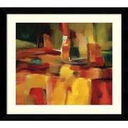 "Amanti Art Nancy Ortenstone ""Harmonious Space"" Framed Art, 28 1/4"" x 31 1/4"""