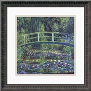 "Amanti Art Claude Monet ""Water-Lily Pond, 1899 (Blue)"" Framed Art, 18 1/4"" x 18 1/4"""
