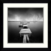 """Amanti Art Moises Levy """"Fragments"""" Framed Print Art, 25.62"""" x 25.62"""""""