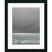 "Amanti Art Brian Leighton ""Bleu 6"" Framed Print Art, 22"" x 18"""