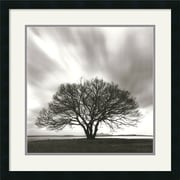 "Amanti Art Michael Kenna ""Night Clouds"" Framed Print Art, 25"" x 25"""