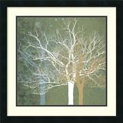 """Amanti Art Erin Clark """"Quiet Forest"""" Framed Print Art, 22"""" x 22"""""""