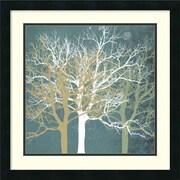 "Amanti Art Erin Clark ""Tranquil Trees"" Framed Print Art, 22"" x 22"""