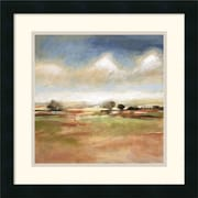 "Amanti Art T.J. Bridge ""Meditative Journey"" Framed Print Art, 18"" x 18"""