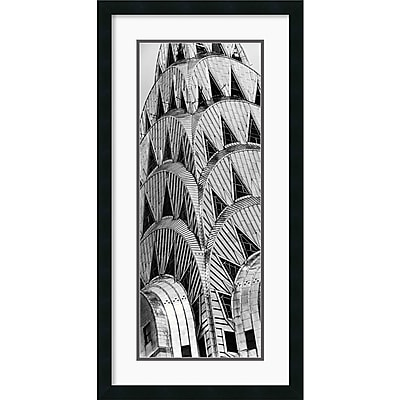 """""Amanti Art Torsten Andreas Hoffman """"""""Chrysler Building"""""""" Framed Print Art, 34"""""""" x 17 1/2"""""""""""""" 965740"