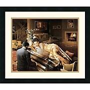"Amanti Art Edward Clay Wright ""Sonata"" Framed Print Art, 19"" x 22 1/4"""