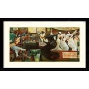 "Amanti Art Frank Morrison ""Preach On Preacher"" Framed Print Art, 25.62"" x 42.62"""