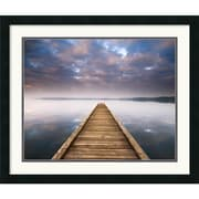 "Amanti Art Jonathan Chritchley ""Lake Walk III"" Framed Print Art, 22"" x 26"""