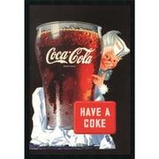 """Amanti Art """"Coca-Cola - Have A Coke"""" Framed Art, 37.38"""" x 25.38"""""""