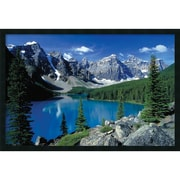 "Amanti Art ""Moraine Lake, Banff"" Framed Print Art, 25.38"" x 37.38"""
