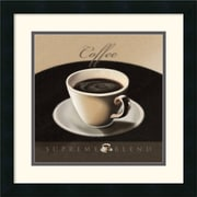 "Amanti Art L. Sala ""Coffee"" Framed Print Art, 17.88"" x 17.88"""