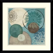 "Amanti Art Veronique Charron ""Flora Mood I"" Framed Print Art, 17.12"" x 17.12"""