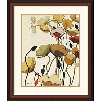"""""Amanti Art Shirley Novak """"""""Pavots Ondule I"""""""" Framed Art, 28"""""""" x 24"""""""""""""" 966203"