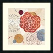 "Amanti Art Veronique Charron ""Abstract Bouquet I"" Framed Print Art, 26"" x 26"""