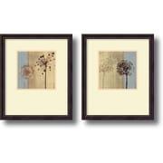 "Amanti Art Tandi Venter ""In the Breeze"" Framed Print Art Set, 18.93"" x 15.93"""