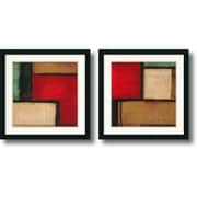 "Amanti Art Candice Alford ""Merge & Yield"" Framed Art Set, 22"" x 22"""