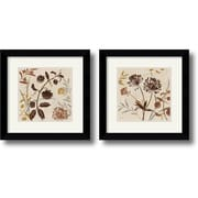 "Amanti Art Lisa Audit ""Natural Field"" Framed Print Art Set, 20.49"" x 20.37"""