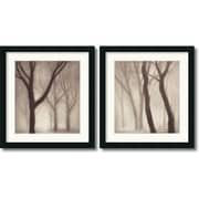 "Amanti Art Gretchen Hess ""Forest"" Framed Print Art Set, 21.62"" x 20"""