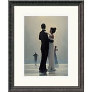 """Amanti Art Jack Vettriano """"Dance Me to the End of Love"""" Framed Art, 22 1/4"""" x 18 1/4"""""""