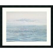 """Amanti Art Jeane Duffey """"Migrating Ducks"""" Framed Print Art, 24"""" x 30"""""""