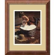 "Amanti Art Jim Daly ""Saturday Night (Detail)"" Framed Art, 16"" x 13"""