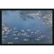 """Amanti Art Claude Monet """"Waterlillies"""" Framed Art, 25.38"""" x 37.38"""""""