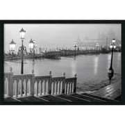 "Amanti Art ""Grand Canal - Venice Framed With Gel Coated Finish"" Framed Print Art, 25.38"" x 37.38"""