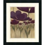 "Amanti Art Vittorio Maria ""Summer Bloom II"" Framed Print Art, 20"" x 17"""
