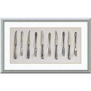 "Amanti Art Assaf Frank ""Antique Collection I"" Framed Print Art, 19"" x 31"""
